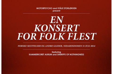 Motorpsycho and Ståle Storløkken: En Konsert For Folk Flest